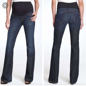 COH Kelly Maternity Bootcut Jeans Size 29x33 Tall